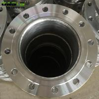 China Short Pipe Stainless Steel Flanged Fittings , Silver Forged Stainless Flanges on sale
