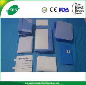 S.E.S Disposable Surgical C-Section Drape Pack, Cesarean Pack