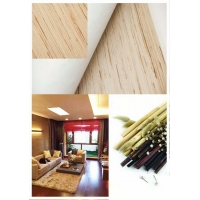 Buy cheap heat insulation 5.5m Jute Ramie Linen Natural Material Wallpaper from wholesalers