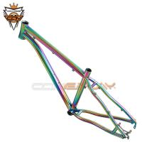 Buy cheap Tapered 26 Hardtail Mountain Bike Frames PVD Anoxide Electric Plating from wholesalers