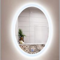 Wholesale SMART TOUCH SWITCH LED BATHROOM MIRROR OEM PRICE   Custom Made Round LED Backlit Bathroom Mirror from china suppliers