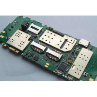 Surface mount electronic pcb assembly layer board with