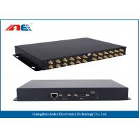 Wholesale 24 Channels HF RFID Fixed Reader , High Power RFID Reader For Bookshlef Inventory Management from china suppliers