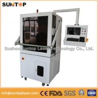 Wholesale 50W Europe standard fiber laser marking machine with Full enclosed structure from china suppliers