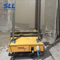 China High Efficiency Automatic Wall Plastering Machine 5 M Rendering Height on sale