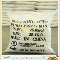 Wholesale Sulfamic acid 99.5%min high quality cas no.:5329-14-6 from china suppliers