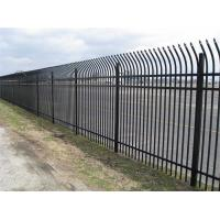 Wholesale Easy Installation Anti Climb Mesh Fence Steel Security Fencing With Sharp Top / Bend Top from china suppliers