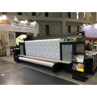 China High Speed Kyocera Print Head Digital Textile Printing Machine Dual CMYK on sale