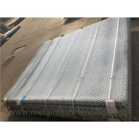 China Aluminium Alloy 5052 Expanded Metal Grating For Walkway 2100 * 2400MM on sale