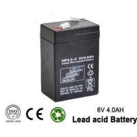 Quality 6v 4ah Rechargeable Emergency Light Lead acid battery for UPS , lighting for sale