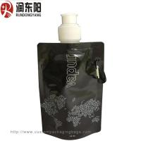 China RDY Liquid Custom Printed Plastic Bags Nozzle Fresh Milk Solution Packaging Pouch on sale