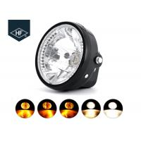 """Wholesale 7 """" Round Aftermarket Motorcycle Headlights With Turn Signals For Honda from china suppliers"""