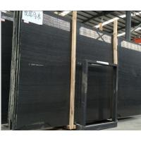 Wholesale Perfect Quality Timber Black Marble,Chinese Black Marble,Slab&Tile,Wood Marble Wall Tile,Flooring from china suppliers