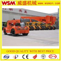 Wholesale 12 tons telescopic boom forklift truck for unloading container from china suppliers