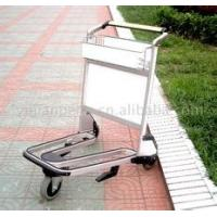 Wholesale Lightweight Stainless Steel Airport Luggage Trolley Zinc Plating With Transparent Powder Coating from china suppliers