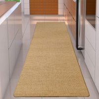 Wholesale handmade 30m 8mm Thickness Flat Natural Woven Sisal Carpet from china suppliers