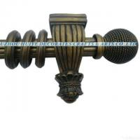 Wholesale 2011 Hot Selling Design Reeded Curtain Pole With Resin Finials from china suppliers