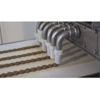High Flexible Puff Pastry Make Up Line , Pastry Making Machine With Depositing Solution