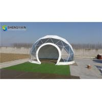 cheap 6m small dome house geodesic dome home camping glamping tent for sale