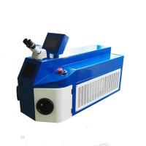 China Desktop 200W Laser Spot Welder Bracelet Bezel Settings Repairing 55kg Weight on sale