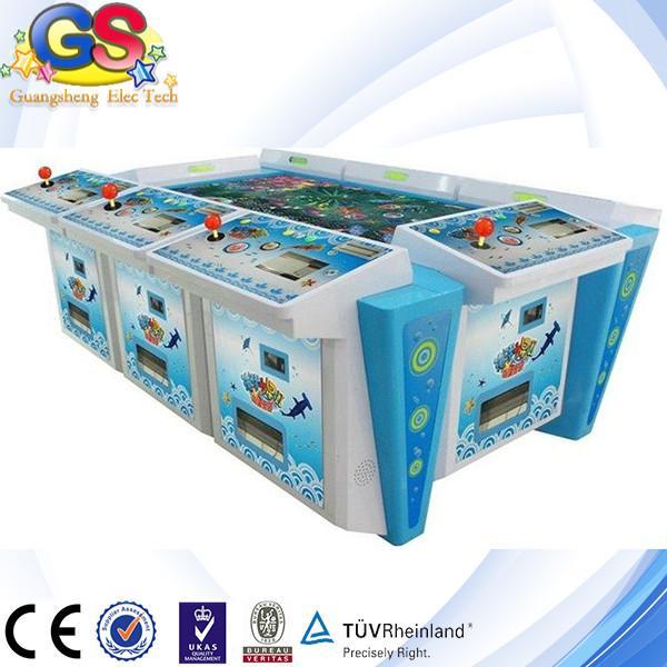 2014 igs shooting fish game machine fish hunter games for Fish game machine