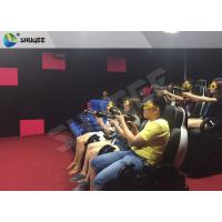 China Electric 7D Cinema System multi - screen Luxury Seats In Museum , Mall on sale