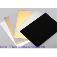 Wholesale Colored Cover PE Film Stock Paper Sheets for Gift Wrapping Paper/Christmas Cards from china suppliers
