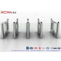Wholesale Stylish Optical Speed Gate Turnstile Bi - Directional Pedestrian Queuing Systems Entry Barriers from china suppliers