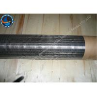Wholesale Johnson Screens Products Stainless Steel Wedge Wire Screen Anti Corrosive from china suppliers