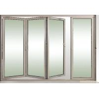 Wholesale Toughened Collapsing Sliding Glass Doors / Bi Folding Sliding Doors from china suppliers