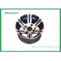 """Wholesale 12 Inch Aluminum Matte Black Wheels Silver Color For Golf Cart 12x7"""" Machined from china suppliers"""