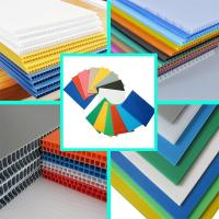 China Factory Printing Corona Treatment PP Corrugated Correx Sheet / Corex Sheet on sale