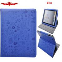 Wholesale Elegant Embosed Ipad 1 Ipad Air PU Leather Cover Cases Support Smart Sleep/Wake Up from china suppliers