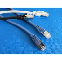 Wholesale U-FTP CAT6A Cable Ethernet Lan Network Patch Cord RJ45 Grey , Blue , Red from china suppliers