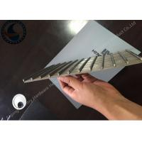 Wholesale Stainless Steel Wedge Wire Screen / Wedge Wire Sheets High Precision from china suppliers