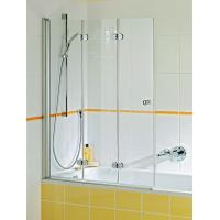 Easy cleaning shower door glass transparent obscure pattern for sale