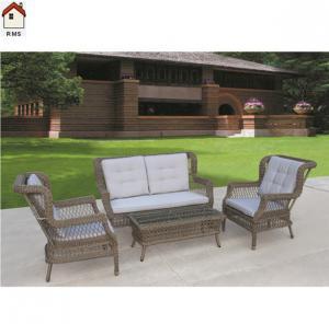 China rattan sofa set imitation rattan garden furniture from manufacturer RMS-0106 on sale