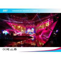 Buy cheap SMD 1R1G1B Rental LED Display Screen , P4.81 Indoor Led Billboard Die Casting aluminum product