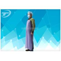Splash Proof Disposable Plastic Aprons Waterproof  43 gsm , different thickness