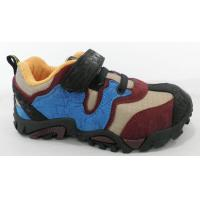 Customized Blue Trail Hiking Shoes Breathability For Climbing Manufactures