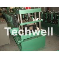 Wholesale GCr15 Steel Roller, High Speed Shelf Roll Forming Machine For 1.8 - 2.3mm Material from china suppliers