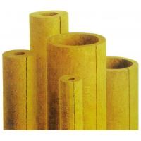 China rock wool pipes/mineral wool pipes without aluminum foil on sale