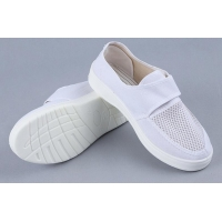 Buy cheap PU Canvas 34-46 Esd Single Mesh Work Shoes With Velcro from wholesalers