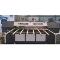 China Double LED Lamps Roll to Roll UV Printer , Flatbed Large Format Color Printers 1440DPI on sale