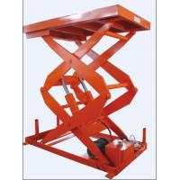 Wholesale warehouse cargo conveying stationary scissor lift from china suppliers