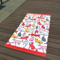 Wholesale Giraffe Cat Cute Beach Towels from china suppliers