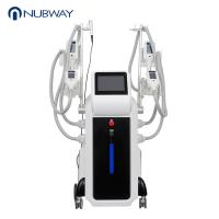 Wholesale Nubway hot sale 4 handles cryo body slimming cryolipolysis beauty machine cryotherapy fat freeze slimming machine from china suppliers