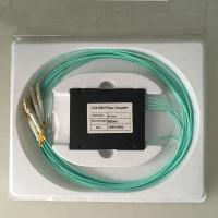 Wholesale Multi Model Fiber Optic Splitter 1*4 FBT Coupler LC/UPC OM3 Connectors With ABS Box from china suppliers