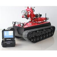 Wholesale HMRBVT01 Tracked Fire Fighting Robot Remote Control With Double Water Belt Supply from china suppliers