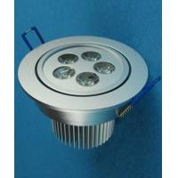 Wholesale Epistar 5W Recessed LED Downlight AC 265V 60Hz With Aluminum Body from china suppliers